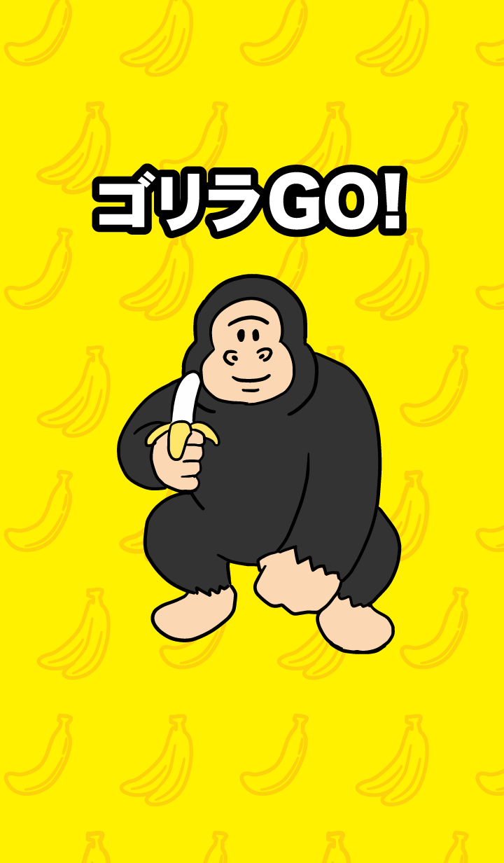 It's a gorilla GO!