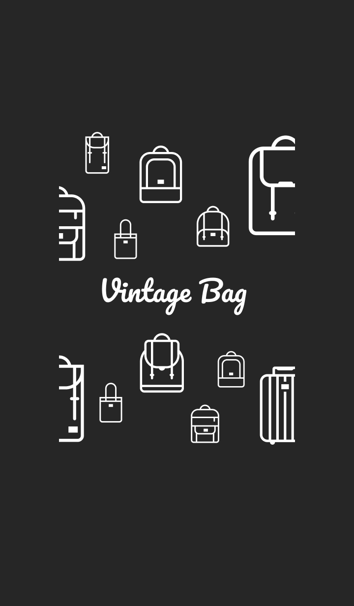 Vintage Bag Dark Global