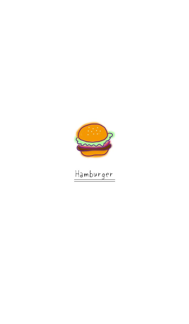 햄버거 : 1 점