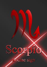 -Zodiac signs Scorpio Red Black2 symbol-
