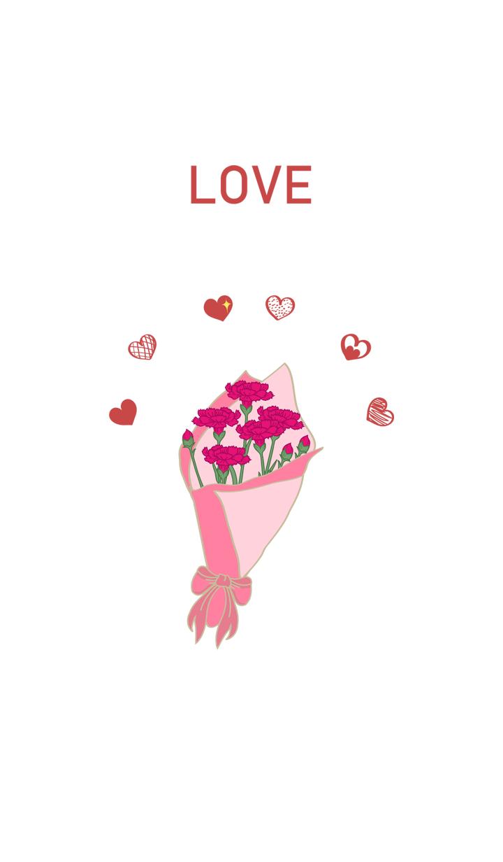 Carnation Bouquet - Love