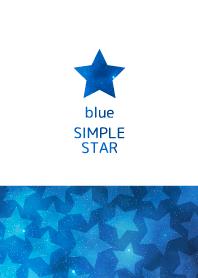 """簡單的明星""""藍色"""""""