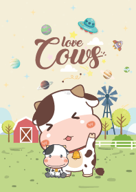 Cows Like Galaxy Farm