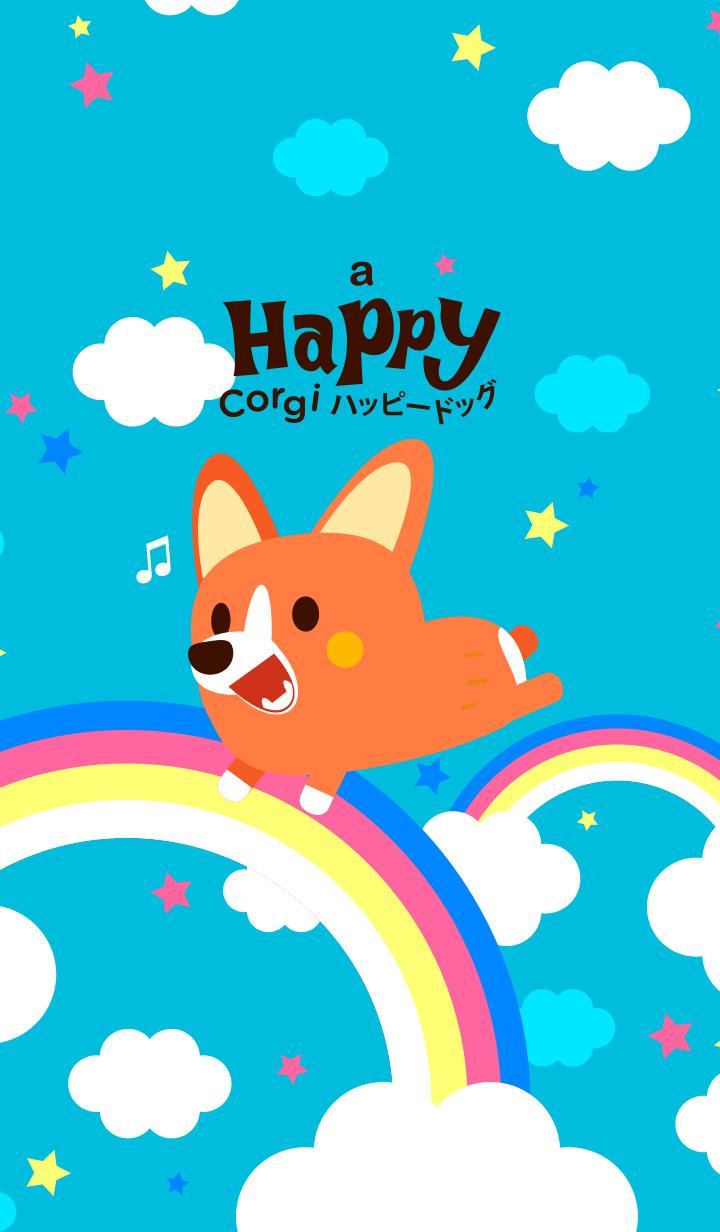 Corgi Rainbow