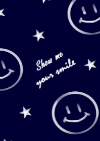 Navy blue&Smile