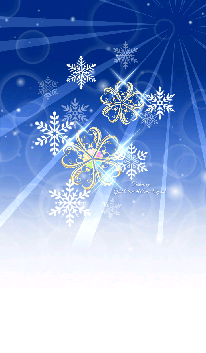 Fortune up Gold Clover & Snow Crystal 2