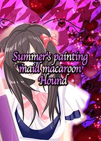 Summer's painting maid macaroon Hound