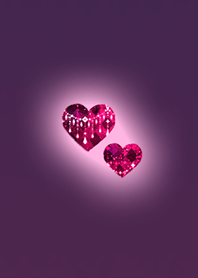 Pink Heart used by adult women