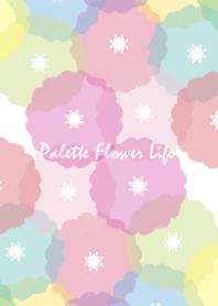 Palette Flower Life