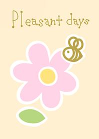 Pleasant days -pink-