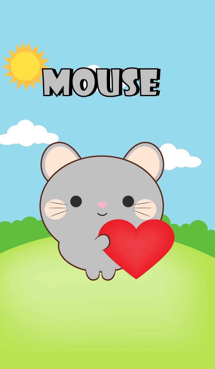Mini Gray Mouse Theme