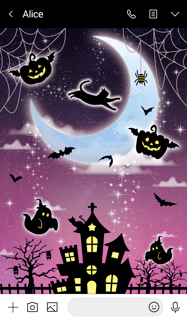 Moon light Halloween night 3