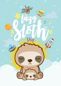 Sloth Lazy Galaxy Sky