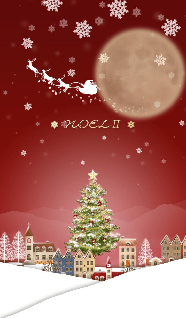 クリスマス北欧風冬景色(ノエル)Ⅱ