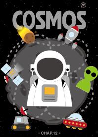 COSMOS CHAP.12 (太空之宇宙浩瀚) 黑白風格