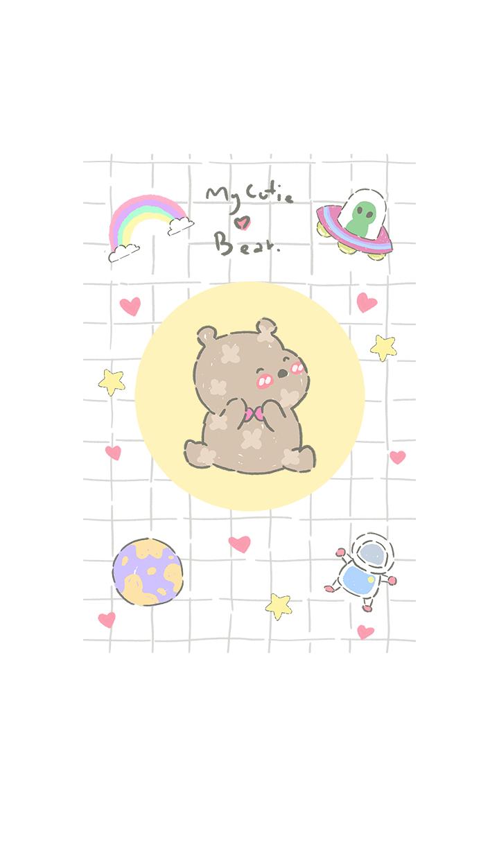 my cutie bear in space2