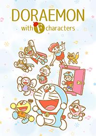 ธีมไลน์ โดราเอมอน & F. Characters