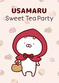 ธีมไลน์ Usamaru: Sweet Tea Party