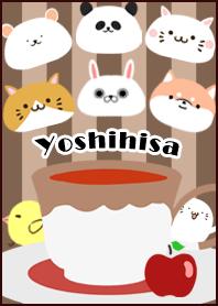 ธีมไลน์ Yoshihisa Scandinavian mocha style