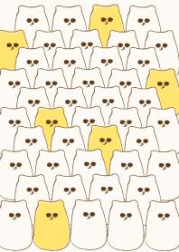 ธีมไลน์ Group of cute meow meow 67