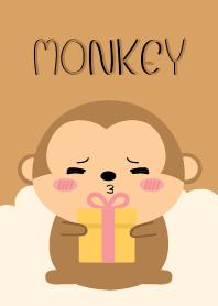 ธีมไลน์ ฉันรักลิงน่ารัก