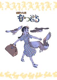 ธีมไลน์ Natsuzora script cover illustration 8