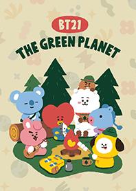ธีมไลน์ BT21 Green Planet