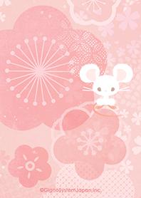 ธีมไลน์ Japanese-style rat