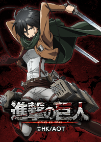 ธีมไลน์ Attack on Titan Mikasa ver.