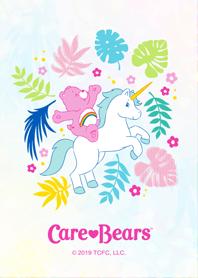 ธีมไลน์ Care Bears - Tropical - #pop