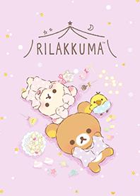 ธีมไลน์ Rilakkuma: pajama party