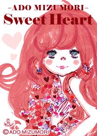 ธีมไลน์ ADO MIZUMORI -SweetHeart-