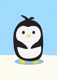 ธีมไลน์ เพนกวิน Baby Happy Simple