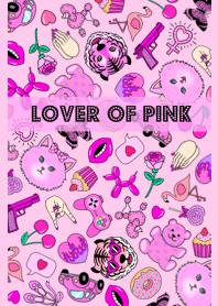 ธีมไลน์ Lover Of Pink Theme