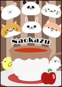 ธีมไลน์ Naokazu Scandinavian mocha style