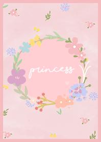 ธีมไลน์ Pink Flowers Theme