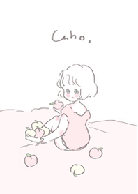 ธีมไลน์ Caho'stheme peach