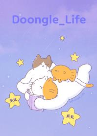 ธีมไลน์ DoongleLife_Night