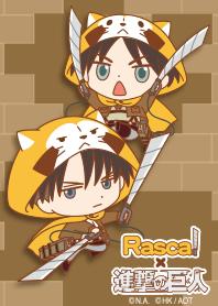 ธีมไลน์ RASCAL x Attack on Titan Vol.3