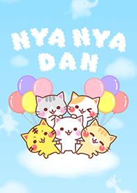 ธีมไลน์ NYA-NYA-DAN
