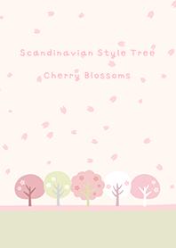 ธีมไลน์ Scandinavian Style Tree*sakura
