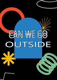 ธีมไลน์ can we go outside