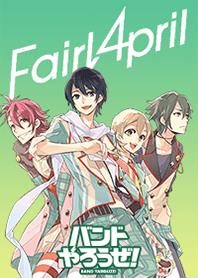 ธีมไลน์ BAND YAROUZE! -Fairy April-