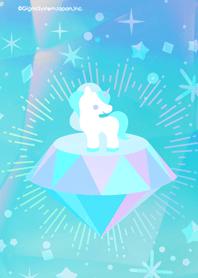 ธีมไลน์ Jewelry and unicorn