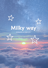 ธีมไลน์ Theme of Milky Way