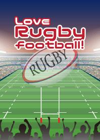 ธีมไลน์ Love Rugby football!