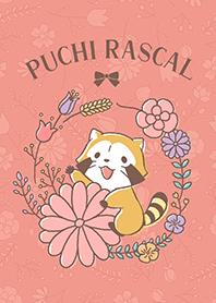 ธีมไลน์ Rascal☆โลกแห่งดอกไม้