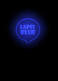 ธีมไลน์ Lapis Blue Neon Theme Ver.4