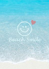 ธีมไลน์ Love Beach Smile 31 -BLUE-