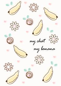 ธีมไลน์ My chat my banana 5